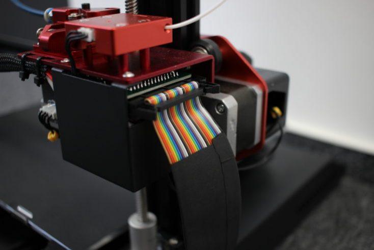 CR-10S Pro Flat ribbon cable