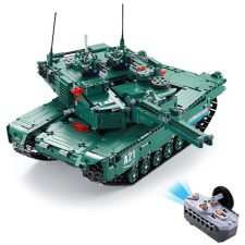 CaDA Battle Tank Building blocks with Remote Control