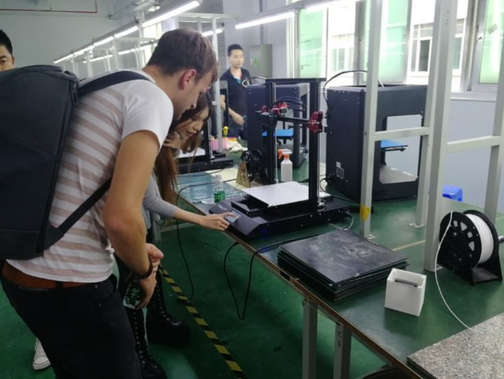 Creality CR-10S Pro 3D Printer Naomi SexyCyborg