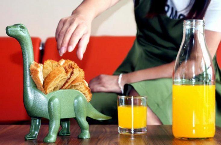Dinosaur Taco Holder Table