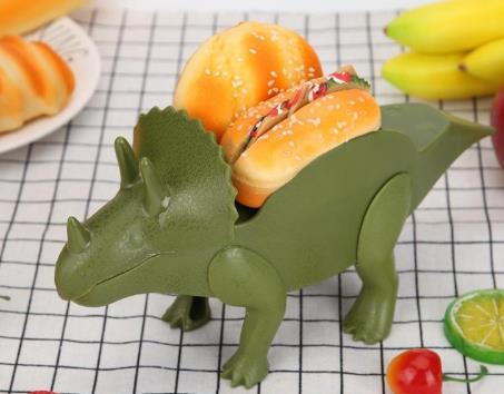 Dinosaur Taco Holders Hot Dog