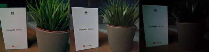 Huawei P30 Pro Night Photo Comparison