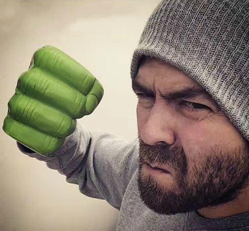 Hulk fist cup