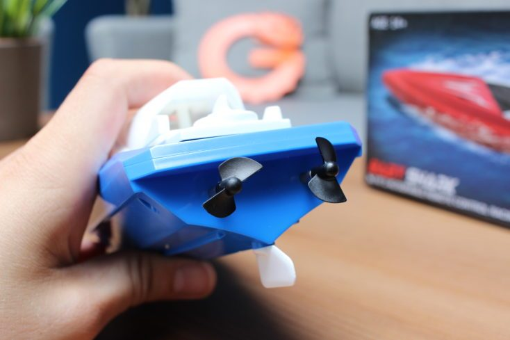 JJRC S5 Baby Shark rear view