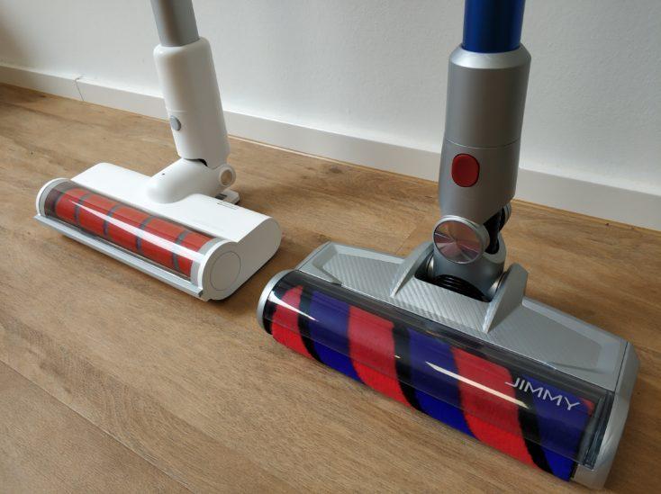 Jimmy JV83 Battery Vacuum Cleaner Comparison Roidmi F8 Floor Nozzle