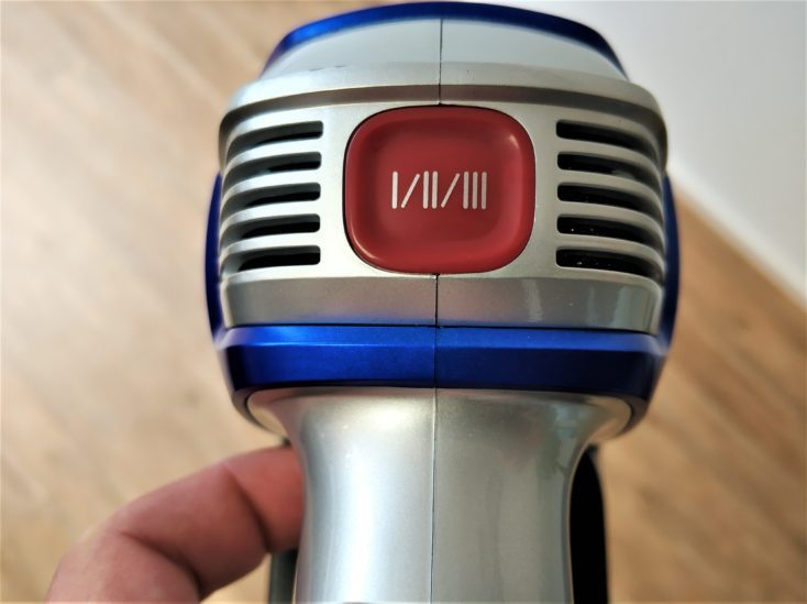 Jimmy JV83 Battery Vacuum Cleaner Suction Steps