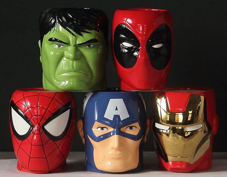 Superhero Cups