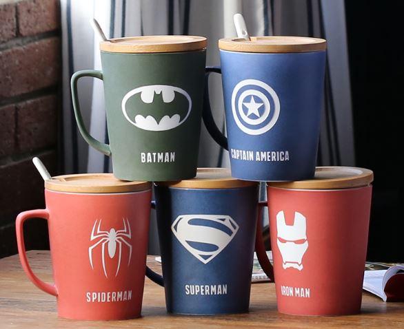 Superheroes cups noble