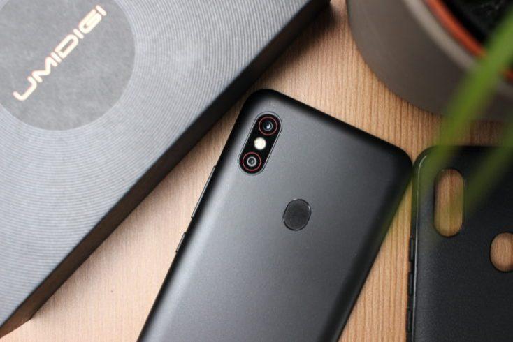 UMIDIGI F1 Smartphone Rear Black
