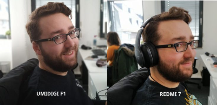 UMIDIGI F1 test photo main camera portrait comparison