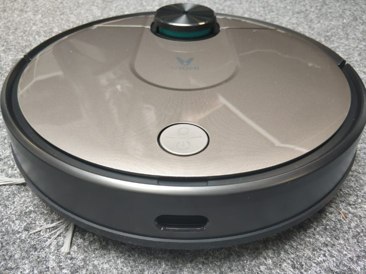 Viomi V2 vacuum robot Dimensions