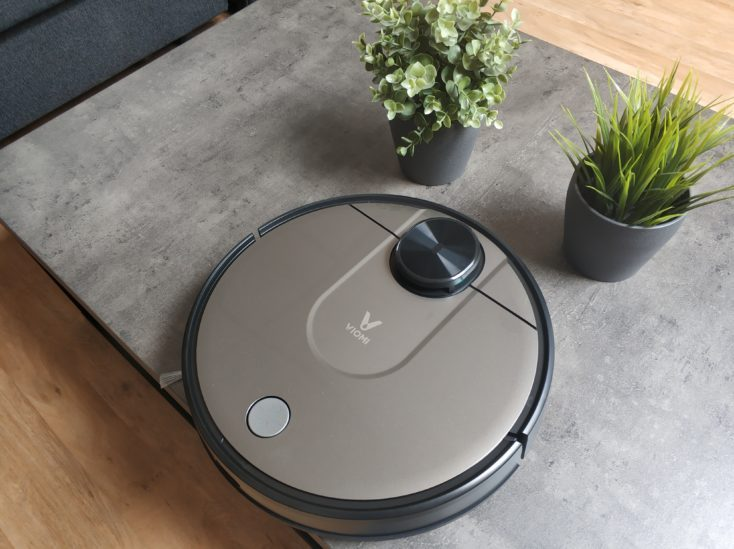 Viomi V2 vacuum robot optics