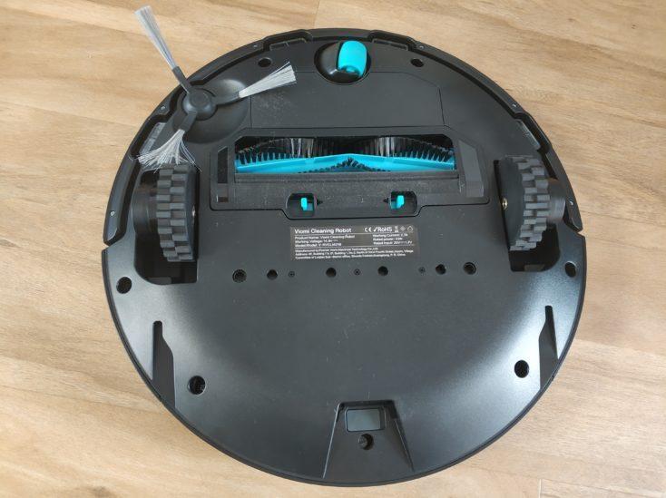 Viomi V2 vacuum robot underside