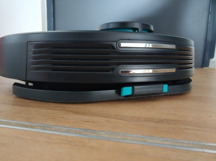 Viomi V2 vacuum robot wiping function