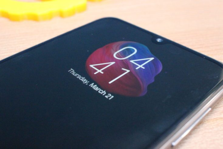 Xiaomi Mi 9 SE Always On Display
