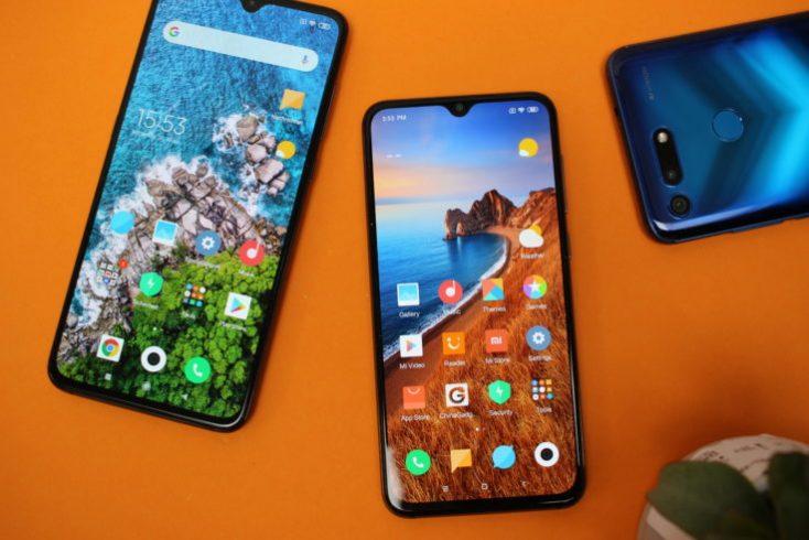 Xiaomi Mi 9 SE Comparison Mi 9 Honor View 20