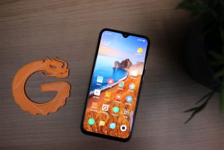 Xiaomi Mi 9 SE Smartphone from above