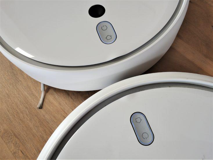 Xiaomi Mi Robot 1S Vacuum Robot Comparison Design Mi Robot