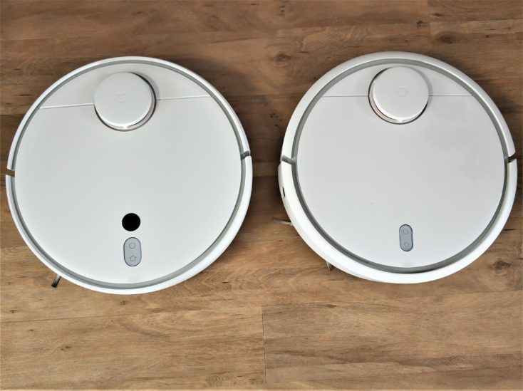 Xiaomi Mi Robot 1S Vacuum Robot Comparison Mi Robot Optics