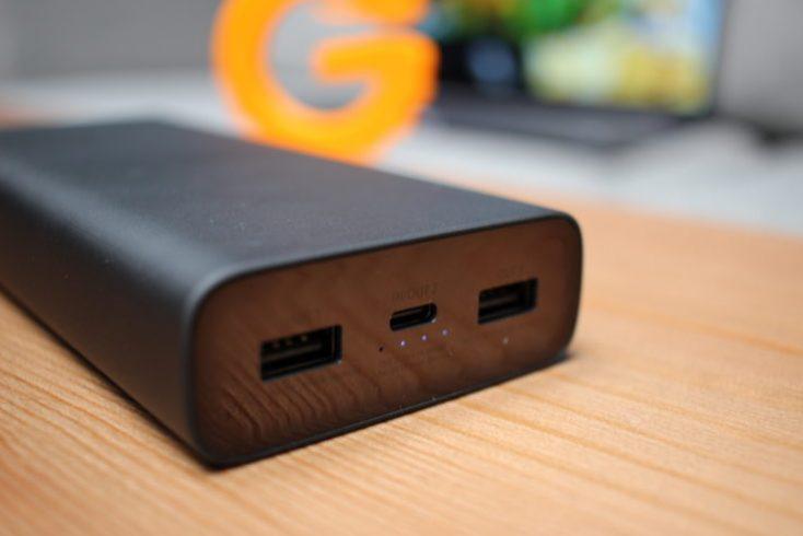 Xiaomi Powerbank 3 connectors