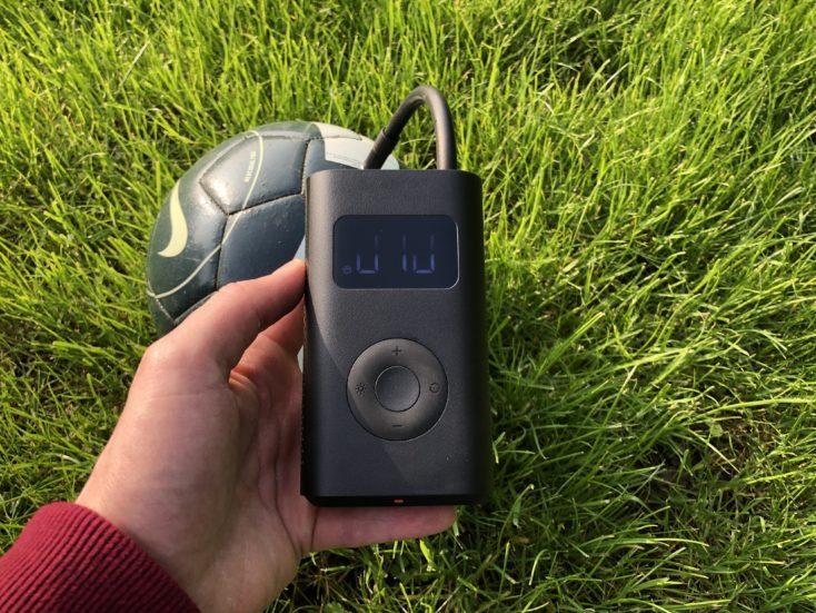 Xiaomi compressor air pump football