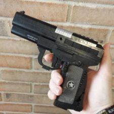 building blocks pistol black