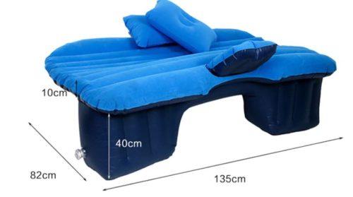 Air mattress car dimensions