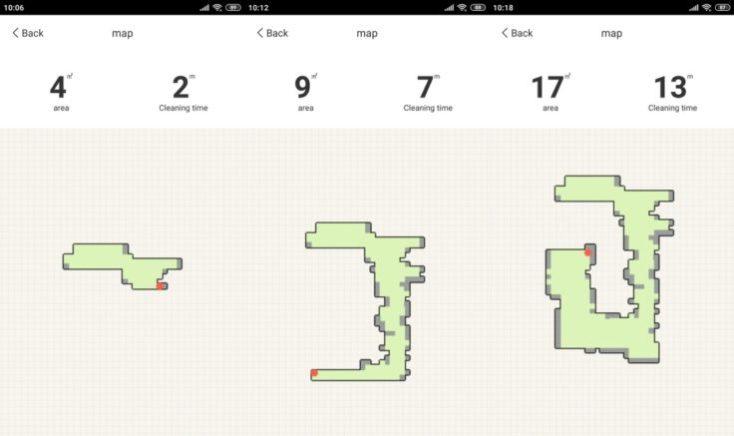 Amarey A900 vacuum robot App Mapping