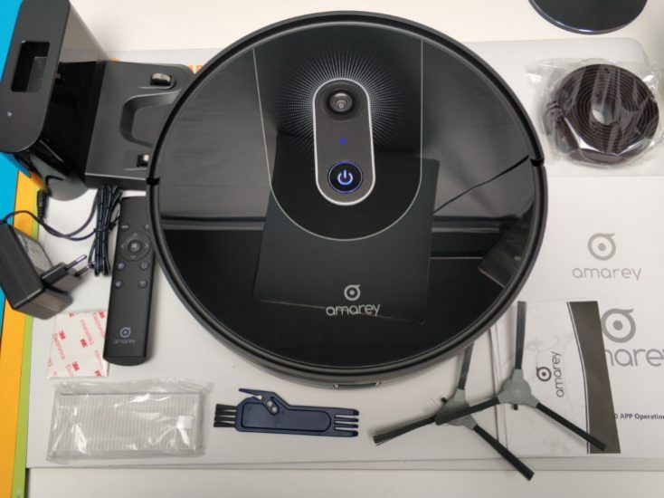 Amarey A900 vacuum robot Scope of delivery