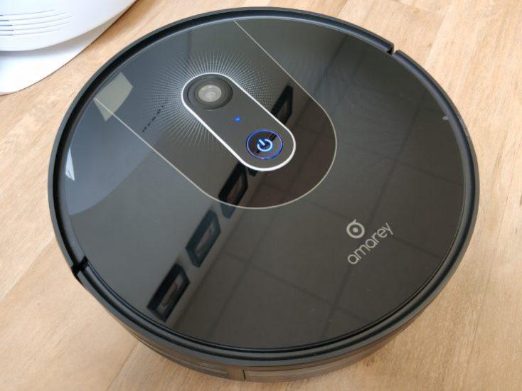 Amarey A900 vacuum robot optics