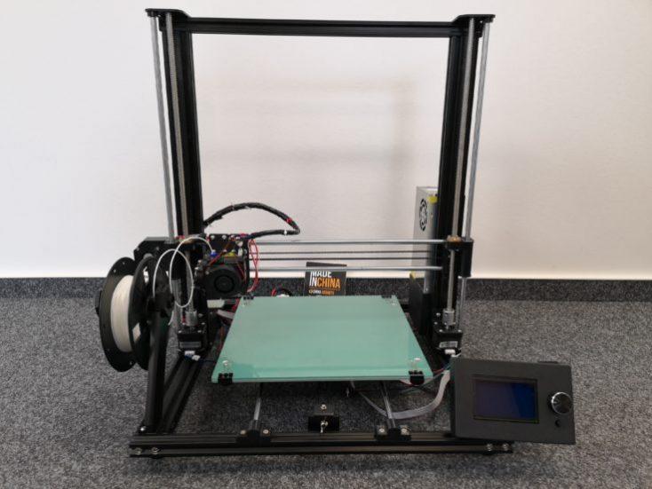 Anet A8 Plus 3D Printer Built Up