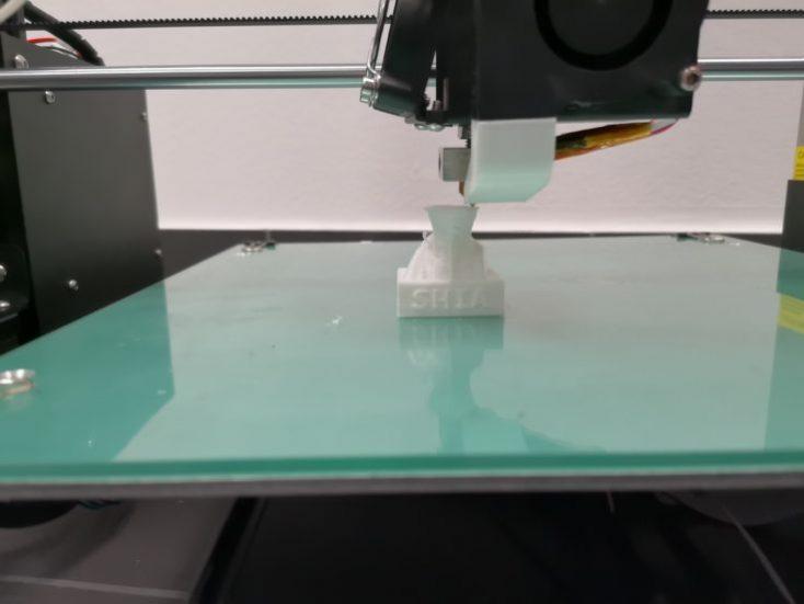 Anet A8 Plus printing process