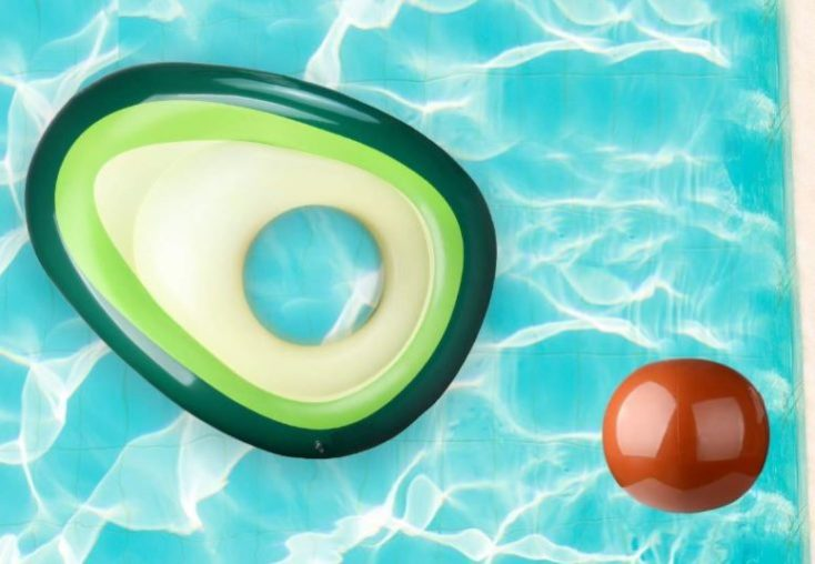 Avocado air mattress with core
