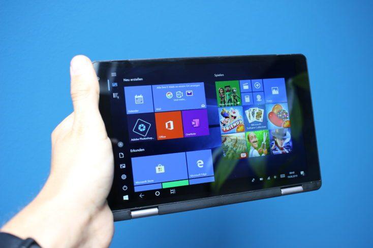 CHUWI Minibook Tablet Mode