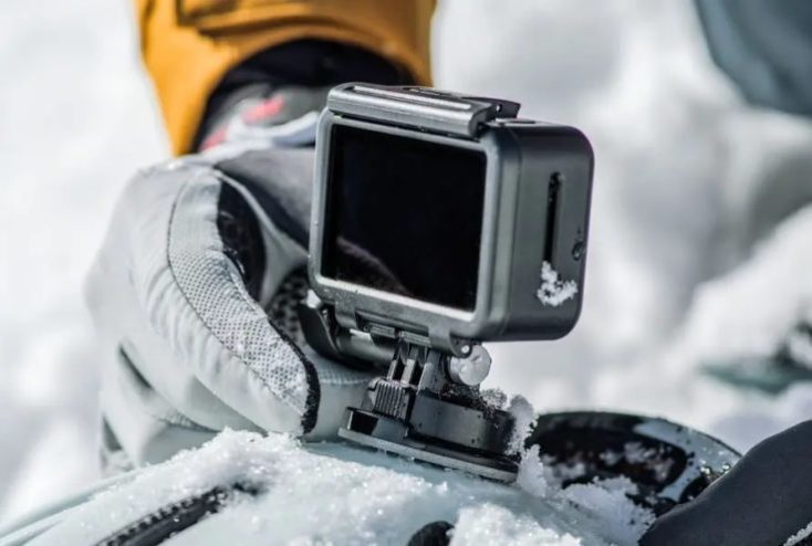 DJI OSMO Action Actioncam Snow