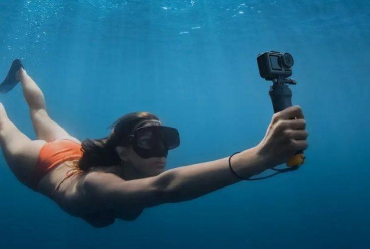 DJI OSMO Action Actioncam underwater
