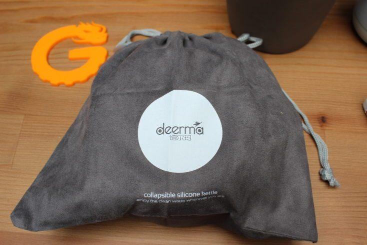Deerma foldable kettle packed