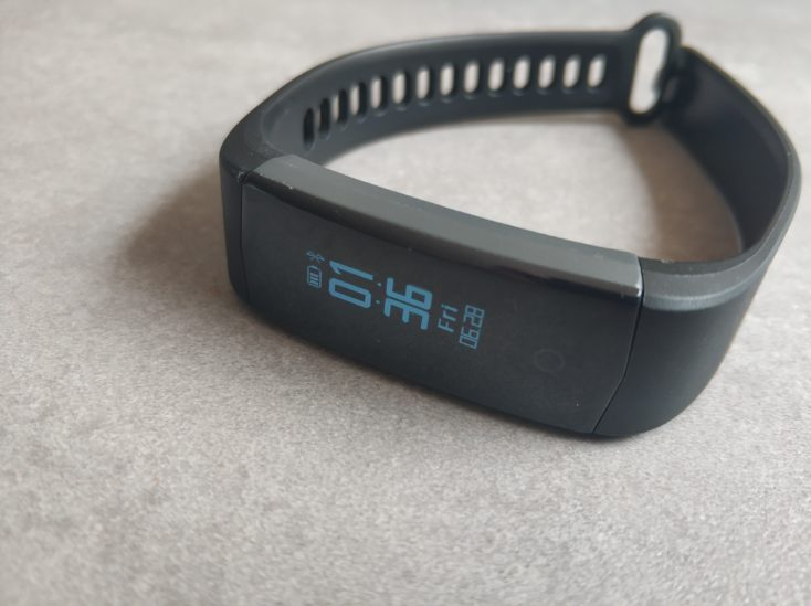 Lenovo HX06H fitness tracker design