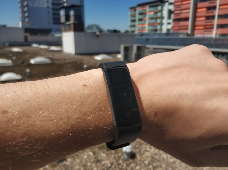 Lenovo HX06H Fitnesstracker Display Sunlight Terrace