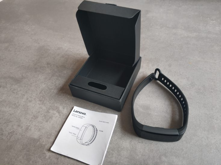 Lenovo HX06H Fitnesstracker Scope of Delivery