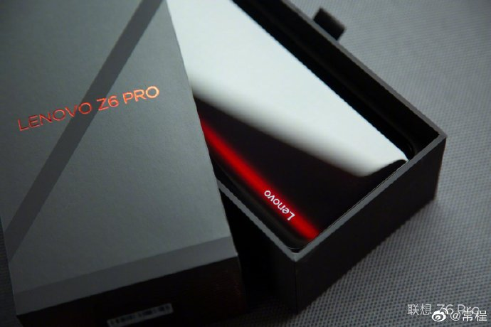 Lenovo Z6 Pro rear panel