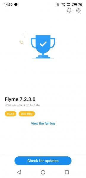 Meizu 16S Screenshot Flyme