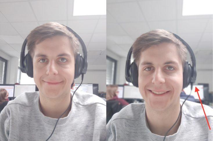 Meizu 16S test photo front camera portrait comparison