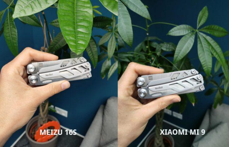 Meizu 16S test photo main camera Xiaomi Comparison