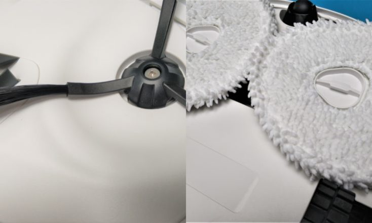 Narwal Robotics Vacuum robot Brush head Wiping mop