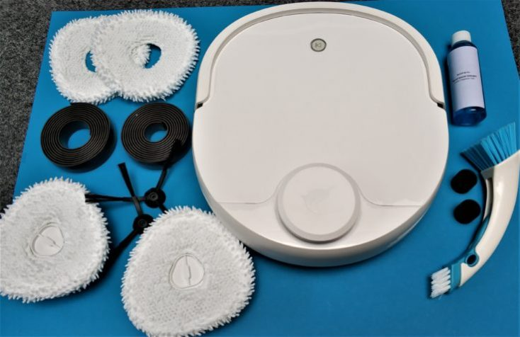 Narwal Robotics Vacuum robot Scope of delivery