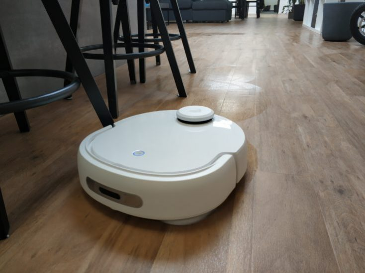 Narwal Robotics Vacuum robot Wiping function Mode of operation