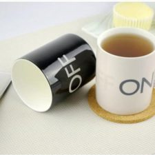 ON OFF cup