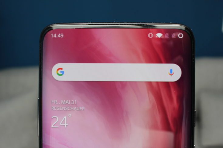 OnePlus 7 Pro Display without Notch