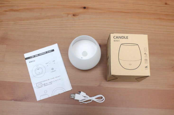 Opple LED candle scope of delivery
